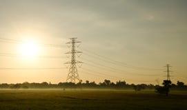 Pole High voltage Stock Photos