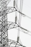 Pole high-voltage royalty free stock image