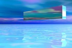 pole krajobrazu logo Zdjęcia Stock