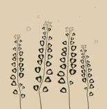 Pole kwiaty. Zdjęcie Stock