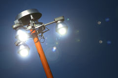 Pole Lights Royalty Free Stock Image