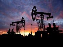 Pole naftowe Zdjęcie Royalty Free