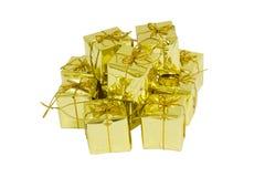 pole prezent złota Zdjęcie Royalty Free