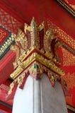 Pole of Public Thai Pavilion. Royalty Free Stock Photography