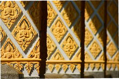 Pole of Sanctuary. This is Pole of Sanctuary in Thailand stock photography