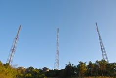 A pole signals the radio Stock Photos