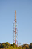 A pole signals the radio Stock Images
