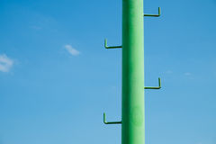 A pole sports lighting stadium Royalty Free Stock Photography