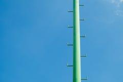 A pole sports lighting stadium Royalty Free Stock Image