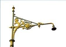 Pole-streel Licht lokalisiert Lizenzfreies Stockfoto