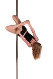 Pole-Tanzeignung Stockfoto