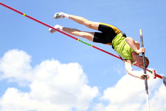Pole vault Royalty Free Stock Images
