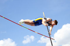 Pole vault Royalty Free Stock Photography