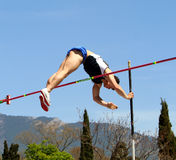 Pole vault Royalty Free Stock Image