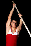 Pole vault Stock Photography