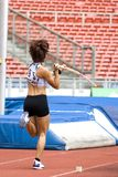 Pole Vault Royalty Free Stock Photos