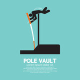 Pole Vault Athletes Graphic Symbol Royalty Free Stock Photo