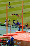 Pole Vault Athletics Royalty Free Stock Photo