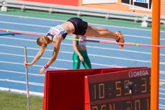 Pole Vault Athletics Stock Photography