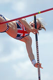 Pole vault women britain scott Stock Photography