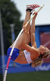 Pole vault women iceland2 Stock Images