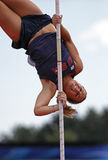 Pole vault women usa ahbe1 Stock Photos