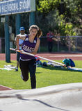 Pole Vaulter Royalty Free Stock Image