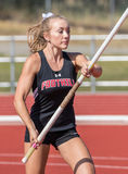 Pole Vaulter stock images