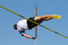 Pole vaulting Royalty Free Stock Image