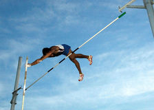 Pole-Vaulting Stock Image