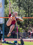Pole Vaulting Royalty Free Stock Photography