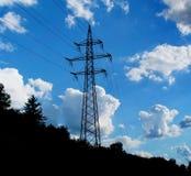 Pole-Verunreinigung stockbild