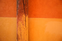 Pole and wall abstract Royalty Free Stock Photo
