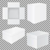 pole white Set mockups ilustracji