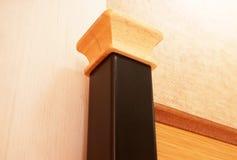 Pole wooden headboard Royalty Free Stock Photo