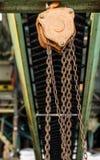 Polea del hierro Imagenes de archivo