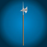 Poleaxe, vector illustration Stock Image