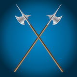 Poleaxe, vector illustration Stock Photo