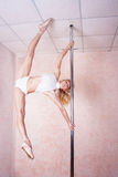 Poledance Royalty Free Stock Images