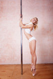 Poledance Stock Image