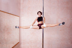 Poledance Royalty Free Stock Photos