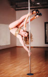 Poledance Royalty Free Stock Image
