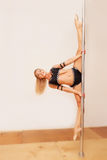Poledance figure Stock Images