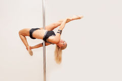 Poledance figure Royalty Free Stock Photo