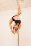 Poledance figure Stock Image