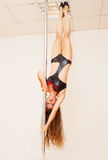 Poledance figure Stock Photography
