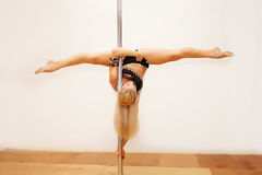 Poledance girl Stock Photos