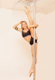 Poledance sport Royalty Free Stock Photography