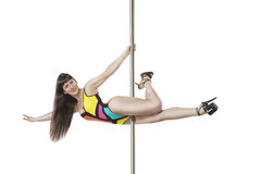 Poledance sport Stock Images