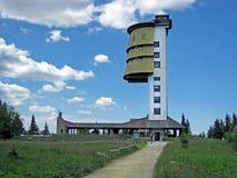Polednik Kontrollturm Stockfoto
